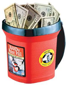 Good Leadership Breakfast Handy Paint Pail Bucket of Good Will